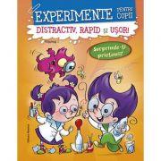 Experimente pentru copii. Ddistractiv, rapid si usor, volumul 1, portocaliu - Alexandre Wajnberg