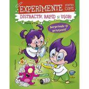 Experimente pentru copii. Distractiv, rapid si usor, volumul 2, verde - Alexandre Wajnberg