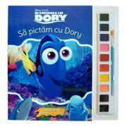 In cautarea lui Dory. Sa pictam cu Dory. Carte de colorat cu pensula si acuarele - Disney
