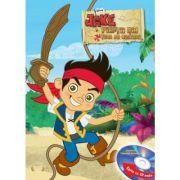 Jake si piratii din Tara de Nicaieri (Carte + CD audio) - Disney