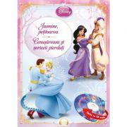 Jasmine, petitoarea. Cenusareasa si soriceii pierduti (Carte + CD audio) - Disney
