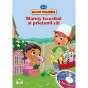 Manny Iscusitul si prietenii sai (Carte + CD audio) - Disney