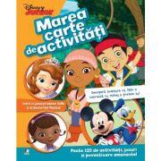 Marea carte de activitati. Peste 125 de activitati, jocuri si povestioare amuzante! - Disney