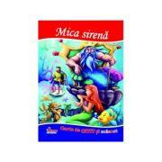 Mica sirena. Carte de citit si colorat - Mariana Matei
