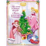 Mica sirena in cautarea darurilor. Aurora si surprizele Craciunului (Carte + CD audio) - Disney
