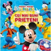 Mickckey Mouse Clubhouse. Cei mai buni prieteni (Carte + CD audio) - Disney