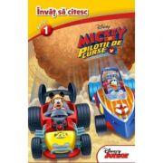 Mickey si pilotii de curse. Invat sa citesc (nivelul 1) - Disney