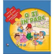 O zi in parc. Carte-puzzle