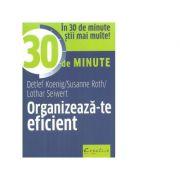 Organizeaza-te eficient in 30 de minute - Lothar Seiwert, Detlef Koenig, Susanne Roth