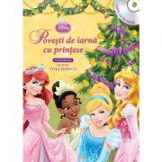 Povesti de iarna cu printese (Carte + CD audio) - Disney