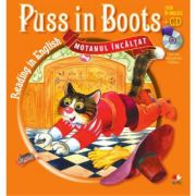 Reading in English. Puss in Boots. Motanul incaltat (Carte + CD audio)
