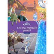 Regatul de gheata. Cele mai frumoase povesti (Carte + CD audio) - Disney