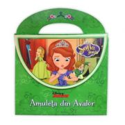 Sofia Intai. Amuleta din Avalor. Carte tip posetuta - Disney