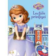 Sofia Intai. Lectiile printesei Ed. prescurtata (Carte + CD audio) - Disney
