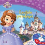 Sofia Intai. Lectiile printesei (Carte + CD audio) - Disney