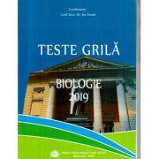 Teste grila Biologie 2019 pentru admiterea la UMF Carol Davila (Dr. Ion Daniel)