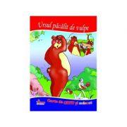 Ursul pacalit de vulpe. Carte de citit si colorat - Mariana Matei