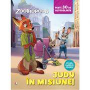 Zootropolis. Judy in misiune. Peste 30 de autocolante - Disney