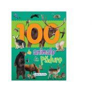 100 de animale din padure - Primele mele carti cu poze