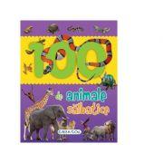 100 de animale salbatice - Primele mele carti cu poze