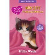 Biscuit, o pisicuta speriata. Prima mea lectura - Holly Webb