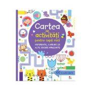 Carte de activitati pentru copii mici. Diferente, careuri si alte jocuri amuzante - Lucy Bowman