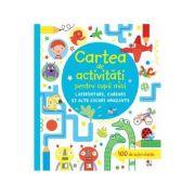 Carte de activitati pentru copii mici. Labirinturi, careuri si alte jocuri amuzante - James Maclaine