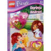 Lego Friends. Dorinta Andreei. Superpoveste. Jocuri amuzante. Set de piese Lego