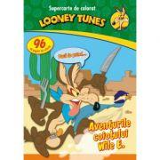 Looney Tunes. Aventurile coiotului Wile E. Supercarte de colorat