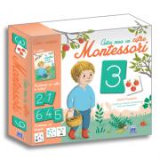 Montessori. Cutia mea cu cifre - Claire Frossard, Céline Santini, Vendula Kachel