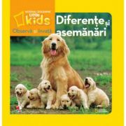 Observa si invata. Diferente si asemanari - National Geographic Little Kids