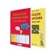 Educatie financiara - Banii pe intelesul copiilor (set carte+caiet)