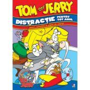 Tom & Jerry. Distractie pentru tot anul - Jocuri, activitati si pagini de colorat
