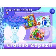 Craiasa Zapezii. Activitati pentru copii de la 3 la 5 ani. Micul artist plastic