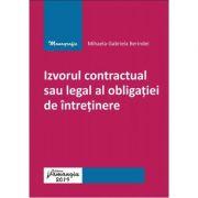 Izvorul contractual sau legal al obligatiei de intretinere - Mihaela-Gabriela Berindei