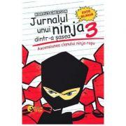 Jurnalul unui ninja dintr-a sasea Vol. 3: Ascensiunea clanului ninja rosu - Marcus Emerson