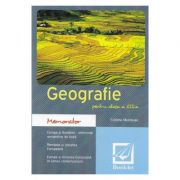 Memorator de geografie. Clasa 12 - Cristina Moldovan