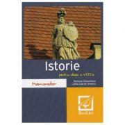 Memorator de istorie - Clasa 8 - Ramona Diaconescu, Camil-Gabriel Ionescu