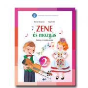 Muzica si miscare pentru scolile si sectiile cu predare in limba maghiara. Manual pentru clasa II - Molnar Margareta, Papp Enicko