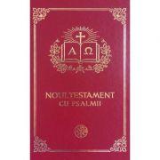 Noul Testament cu Psalmii. Format mic grena