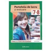 Romana. Clasele 7-8 - Portofoliu de lucru si evaluare - Larisa Kozak