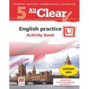 All Clear! English practice. Activity book. L 2 (clasa a V-a) - Fiona Mauchline