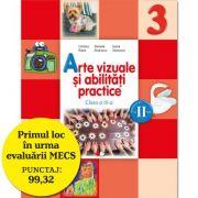 Arte vizuale si abilitati practice. Manual pentru clasa a III-a, pentru semestrul II - Cristina Rizea