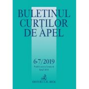 Buletinul Curtilor de Apel nr. 6-7/2019