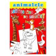 Cartea mea de colorat. Animalele