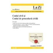 Codul civil si codul de procedura civila. Actualizat 1. 09. 2019