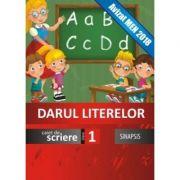 Darul literelor - caiet de scriere pentru clasa I