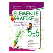Elemente grafice 5-6 ani. Ed. 2 - Alice Nichita, Mihaela Mitroi