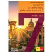 Elemente de limba latina si de cultura romanica – manual pentru clasa a 7-a - Alexandru Dudau