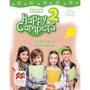 Happy Campers 2. Student Book and Workbook. Clasa II-a - Angela Lianas, Libby Williams